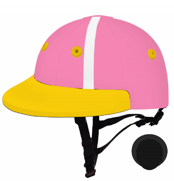 English Peak Style Helmet Polo. (x 1) (84551089-kcgp4vx2)